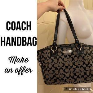 Coach Gallery Signature Handbag